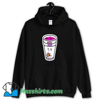 Rapper Lean Double Cup Purple Dreams Hoodie Streetwear