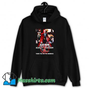 Scarlett Johansson Black Widow 16th Years Of 2004 2020 Hoodie Streetwear