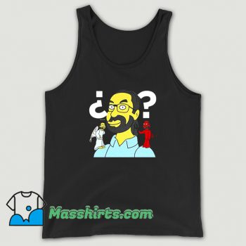 Simpsonize The Simpsons Make Me Yellow Tank Top On Sale