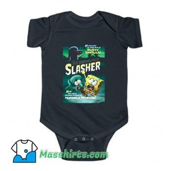 Spongebob The Hash Slinging Slasher Baby Onesie