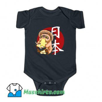 Tanuki Japanese Ramen Baby Onesie