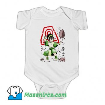 The Power Of The Earth Kingdom Baby Onesie