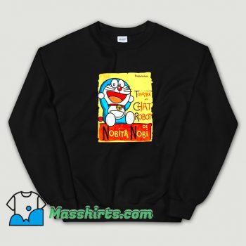 Tournee Du Chat Robot De Nobita Nobi Sweatshirt