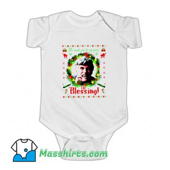 Uncle Lewis Christmas Fictional Character Baby Onesie