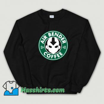 Vintage Air Bender Coffee Sweatshirt