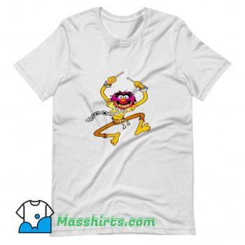 Vintage Animal Drummer The Muppets Show T Shirt Design