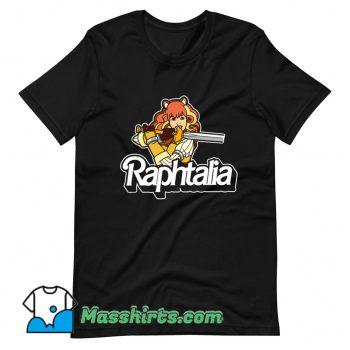 Vintage Anime Raphtalia Raphie Doll T Shirt Design