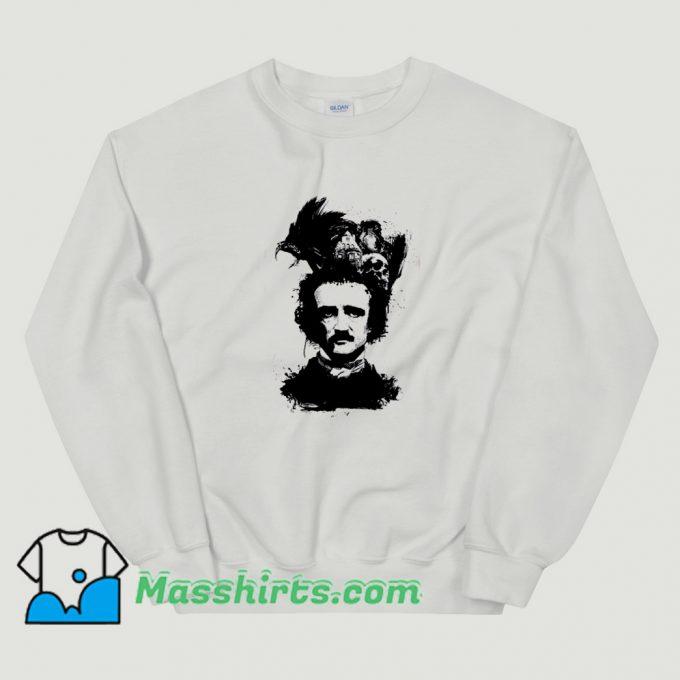Vintage Edgar Allan Poe Dark Sweatshirt