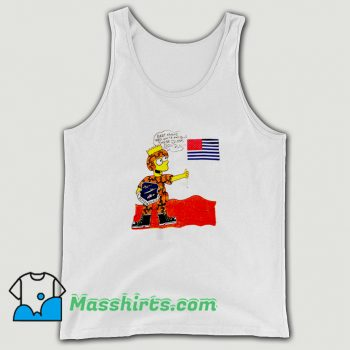 Vintage Operation Desert Shield Bart Simpson Tank Top