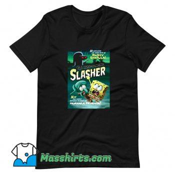 Vintage Spongebob The Hash Slinging Slasher T Shirt Design