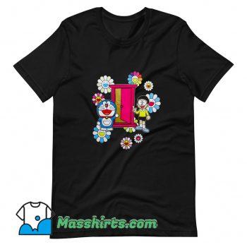 Vintage Uniqlo x Doraemon Big Doraemon Nobita Character T Shirt Design
