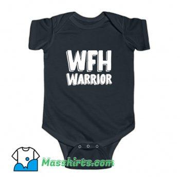 Wfh Warrior Work From Home Baby Onesie