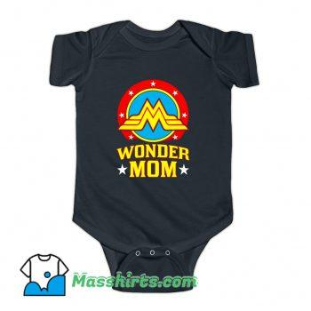 Wonder Mom Happy Mother Day Baby Onesie