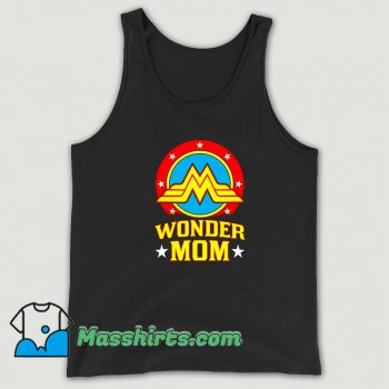 Wonder Mom Happy Mother Day Tank Top