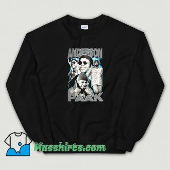 Anderson Paak Singer Musican Superstar Sweatshirt