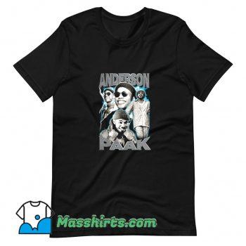 Anderson Paak Singer Musican Superstar T Shirt Design