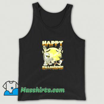 Australian Shepherd Happy Halloween Tank Top