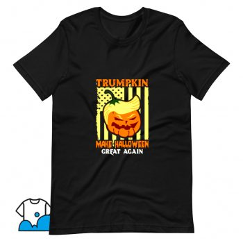 Awesome Donald Trump Make Halloween Great Pumpkin T Shirt Design