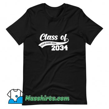 Awesome Graduation Class Of 2034 T Shirt Design