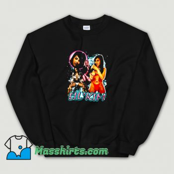 Awesome Lil Kim Bikini Retro 90s Sweatshirt