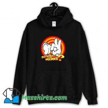 Awesome Mickey Do You Wanna Hoodie Streetwear