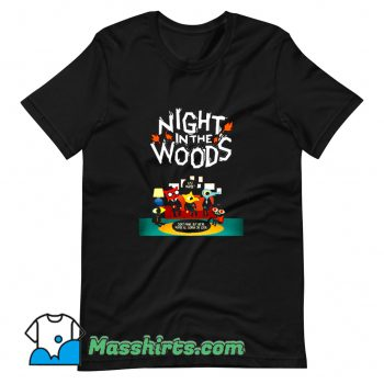 Awesome Night In The Woods T Shirt Design