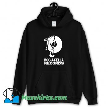Awesome Roc A Fella Records Hoodie Streetwear