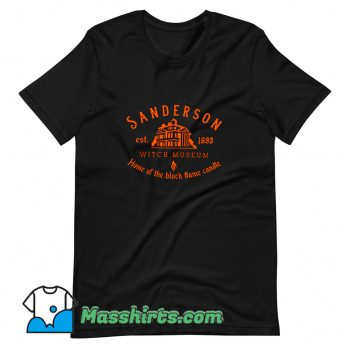 Awesome Sanderson Witch Museum Halloween T Shirt Design