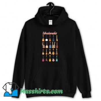 Awesome Ukelandia Guitar Music Hoodie Streetwear