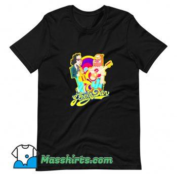 Best Cartoon Steely Dan Band T Shirt Design