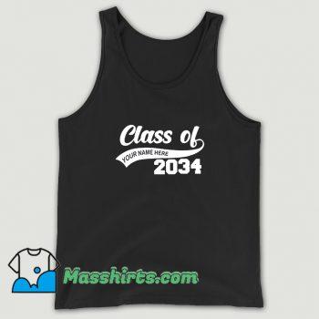 Best Graduation Class Of 2034 Tank Top