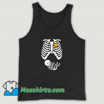 Best Skeleton Maternity Tank Top