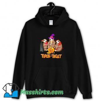 Best Sloth Trick Or Treat Happy Halloween Hoodie Streetwear