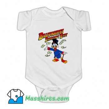 Billionaires Shouldnt Exist Baby Onesie