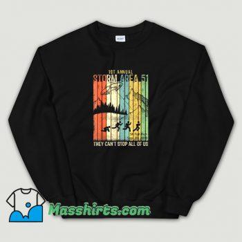 Cheap 1st Annual Area 51 Sweatshirt