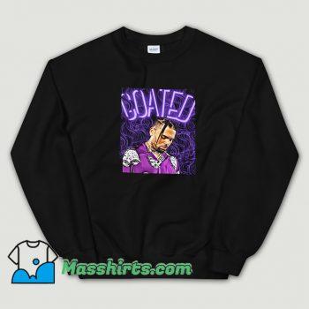 Cheap Chris Brown Goated Sweatshirt