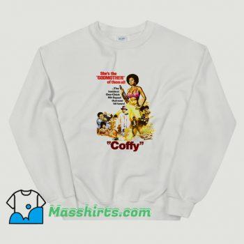 Cheap Foxy Brown Retro Movies Sweatshirt