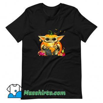 Cheap Happy Halloween Witch Pumpkin T Shirt Design