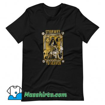 Cheap Led Zeppelin Stairway To Heaven T Shirt Design