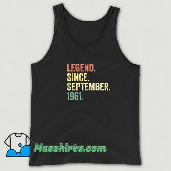 Cheap Legend Since September 1961 Tank Top