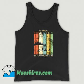 Classic 1st Annual Area 51 Tank Top