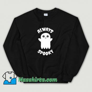 Classic Always Spooky Halloween Sweatshirt