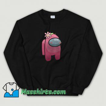 Classic Among Us Pink Sweatshirt