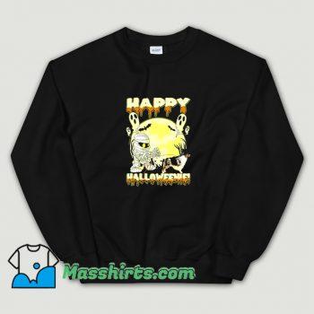 Classic Australian Shepherd Happy Halloween Sweatshirt