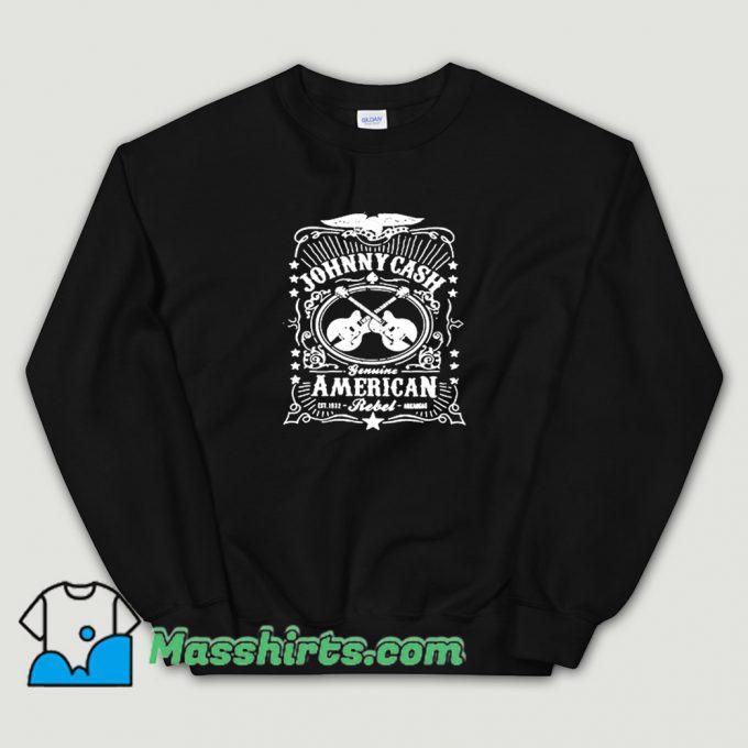Classic Johnny Cash American Rebel Sweatshirt
