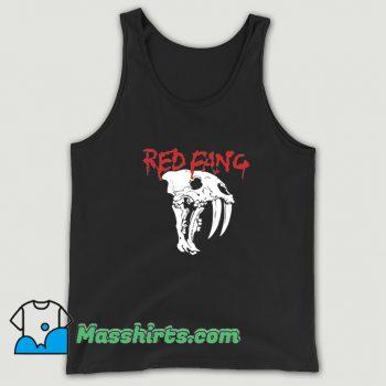 Classic Red Fang Tank Top