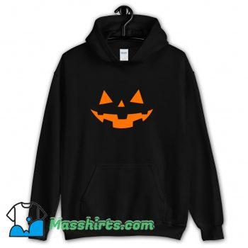 Classic Scary Pumpkin Face Halloween Hoodie Streetwear