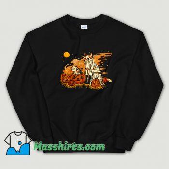 Classic Spooky Pals Halloween Sweatshirt