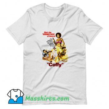 Cool Foxy Brown Retro Movies T Shirt Design