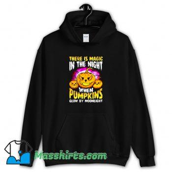 Cool Halloween Pumpkin Magic In The Night Hoodie Streetwear